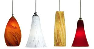pendant lighting colored glass image of lights for kitchen island