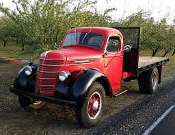 100 1940 Trucks Dual Purpose Driver International Harvester D30 Flatbed