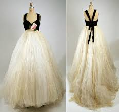 adored vintage vintage designers vintage 1950s evening dress by