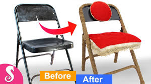 Old Chair MakeOver | Make Folding Chair Beautiful From Jute/Rope And ... Vintage Wooden Folding Chair Old Chairs Stools Amp Benches Ai Bath Pregnant Women Toilet Fniture Designhouse French European Cafe Patio Ding Best Way To Cleanpolish Wood In Rope From Maruni Mokko2 For Sale At 1stdibs Chairs Leisure Hollow Rocking Bamboo Orient Express Woven Paris Gray Rattan Set Of 2 Adjustable Armrest Mulfunction Wood Folding Chair Computer Happy Goods Industry Wind Iron