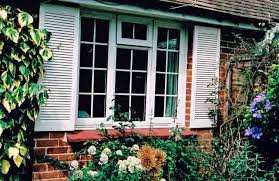 Decorative Security Grilles For Windows Uk by Plastic Decorative Exterior Window Shutters Simply Shutters
