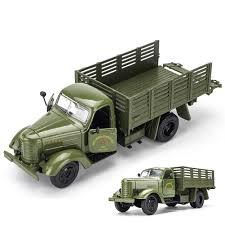 100 Model Toy Trucks 132 Alloy Military Diecast Transport Car S S Gift