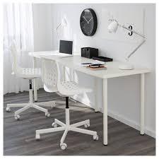 Ikea Malm White Office Desk by Adils Linnmon Table White 200x60 Cm Workspaces Desk Setup And Desks