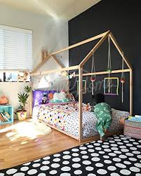Amazon Toddler bed House shaped bed nursery wood house bed