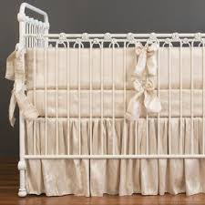 Bratt Decor Crib Skirt by Luxury Crib Bedding By Bratt Decor