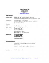Ollege Resume Templates High School Student Sample Samples For College Youth