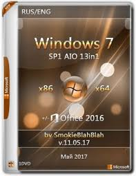 Windows 7 AIO 13in1 x86 x64 fice 2016 by SmokieBlahBlah v
