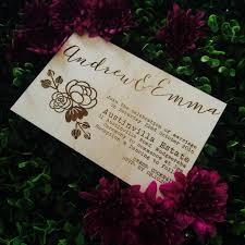 Australian Rustic Wedding Invitations Timber Australia Invitation Floral Design