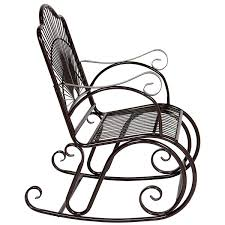 BCP Patio Iron Scroll Porch Rocker Rocking Chair Outdoor Deck Seat ... Antique Folding Rocking Chair Chairish Wood Carved Griffin Lion Dragon For Porch Outdoor Fniture Safaviehcom Patio Metal Seat Deck Backyard Glider Rocking Chairs For Front Porch Annauniversityco Vintage Rocker Olde Good Things Detail Feedback Questions About Wooden Tiger Oak Cane Activeaid Hinkle Riverside Round Post Slat Back