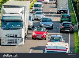 100 Stuck Trucks Cars Traffic Stock Photo Edit Now 384201037