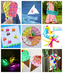 No Special Tools Or Skills Are Required So ANYONE Can Make These Cute Summer Crafts For Kids Great Fun The Entire Family