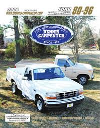 100 Obsolete Ford Truck Parts Dennis Carpenter Restoration Catalog 80 96 S PDF