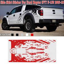 100 Cool Truck Stickers Side Bed Mud Splash Kit Decal Sticker Vinyl For Ford Raptor SVT F