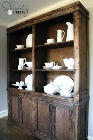 Large White China Cabinet And We Promised You A Hutch Plan Modern Dining Room Chairs Pictures