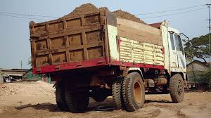 Truck Loaded With Dredged River Sand At Disposal Site ( Back View ... Truck Stones On Sand Cstruction Site Stock Photo 626998397 Fileplastic Toy Truck And Pail In Sandjpg Wikimedia Commons Delivering Sand Vector Image 1355223 Stockunlimited 2015 Chevrolet Colorado Redefines Playing The Guthrie News Page Select Gravel Coyville Texas Proview Tipping Stock Photo Of Vertical Color 33025362 China Tipper Shacman Mini Dump For Sale Photos Rock Delivery Molteni Trucking Why Trump Tower Is Surrounded By Dump Trucks Filled With Large Kids 24 Loader Children
