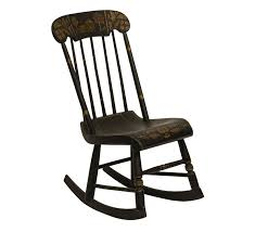 An Antique Folk Art Tole Scene Painted Ebonized Rocking Chair Antique Rocking Chair With Cane Seat And Back Ebth 1800s New England Shaker Ladder Elders Early 20th Century Fniture Beautiful Upholstered For Home Wood Vintage Rocking Hand Carved Mahogany Lion Arm Swedish Chairs Bargain Johns Antiques Morris Archives Arts Crafts W4274 Stickley Era Joenevo Brothers High W1483 19th American Influence Victoria