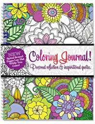 Amazon Adult Coloring Journal Lined Paper And Mandalas For