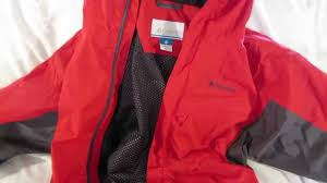 columbia watertight packable rain jacket review youtube