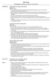 Social Media Strategist Resume Samples | Velvet Jobs 96 Social Media Director Resume Marketing Intern Sample Writing Tips Genius Templates Examples Of Letters For Employment Free 20 Simple How To List Skills On Eyegrabbing Evaluator New Student Activity Template Social Media Rumes Marketing Resume Samples Hiring Managers Will Digital Elegant Public Relations Complete Guide Advanced Excel Puter Science For Rumes Professional Retail Specialist Samples Velvet Jobs Strategist