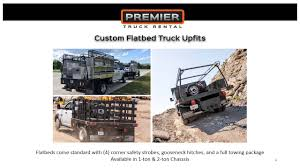 100 Flatbed Truck Rental Premier Upfit Gallery YouTube