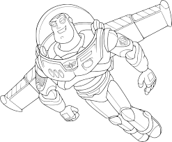 Coloriage Buzz L Clair On Coloriage Toy Story 3 Buzz L Eclair Et