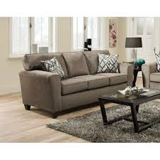 American Furniture Manufacturing Sofas 3103 Cornell Pewter Sofa