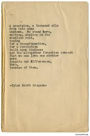 1366 Best Tyler Knott Gregson Images On Pinterest | Typewriter ... 8 Best 2017 Spiritwear Images On Pinterest High Schools Shirt Tyler Tx Broadway Market Center Eyeglass World Which Stores Are Open Late Christmas Eve December 2012 Oh So Cynthia Barnes Noble Bnholyoke Twitter Donut Delight In Restaurant Reviews Katherine Tyra Branch Library Bear Creek Harris County Public 25 Best Memes About Toffoli 673 Bookshops Bookstores Inverness Day After Sales Store Hours Signed Edition Books Black Friday