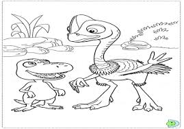 Dinosaur Train Pages Coloring For Kids