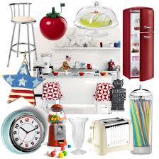 Embrace Classic Americana With These Fab Diner Style Kitchen Accessories
