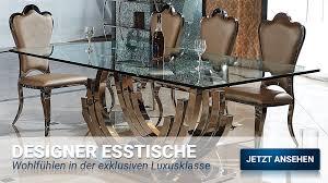 esstisch cc glasplatte 160x90x75 cm