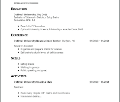 Resume Template No Experience Templates Area Of Cover Letter Good Relevant Keywords