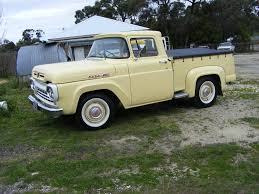 100 F100 Ford Truck 1960s Pickup This Vehicle Was Another Members