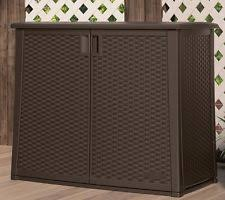 Suncast Patio Storage Box by Outdoor Storage Container Ebay