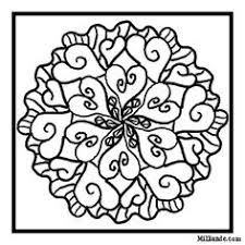 Coloring Pages For 8 Year Olds 5 Mandala Iv Rave Colouring Page 3