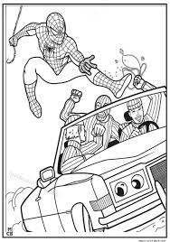 Spiderman Coloring Pages Free 7