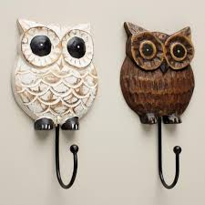 Wood Owl Hooks At Cost Plus World Market WorldMarket