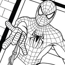 Free Printable Coloring Sheets For Kids Gloves With Sound Spiderman Colouring Pages Pdf Download Full