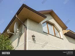 100 Modern Stucco House Bottom View Detail New Image Photo Free Trial Bigstock