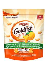 GoldfishR Cheddar Made With 70 Organic Ingredients 198g