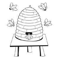 Bee Coloring Pages Surfnetkids