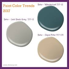 Paint Colors For Bathrooms 2017 by 2017 Paint Color Trends Divineny Com