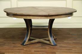 Image Of Rustic Round Dining Tables
