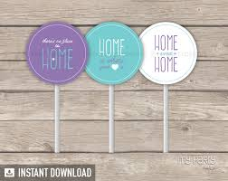 House Warming Party PRINTABLE Cupcake Toppers