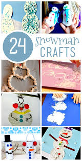 24 Super Cute Snowman Crafts For Kids To Make