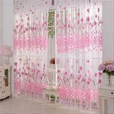 voilage au metre de rideau 2 voilages tulle couleur et motif au choix blanc