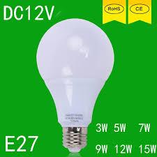 led bulbs 3w 5w 7w 9w 12w 15w dc 12v e27 12 volt led jogo de luz
