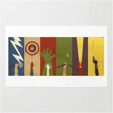 Marvel ics Avengers Assemble Characters Area Rug – Superhero Sheets