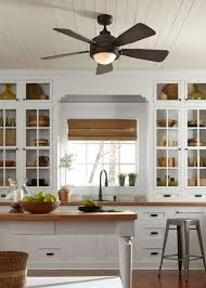 kitchen ceiling fans houzz for amazing household prepare