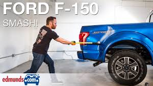 100 Aluminum Ford Truck Edmundscom Editors Hit 2015 F150 With Sledgehammer