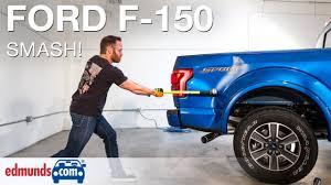 100 Edmunds Used Trucks Com Editors Hit Aluminum 2015 Ford F150 With Sledgehammer